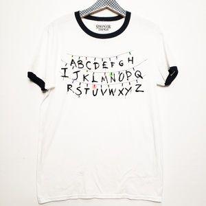 Hot Topic Stranger Things Graphic Tee Shirt NWT